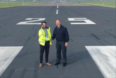 RAF Northolt Runway Rehabilitation & Arrestor Beds