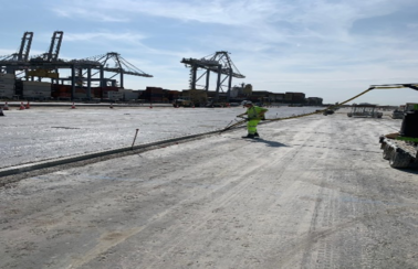 Works successfully delivered at DP World London Gateway